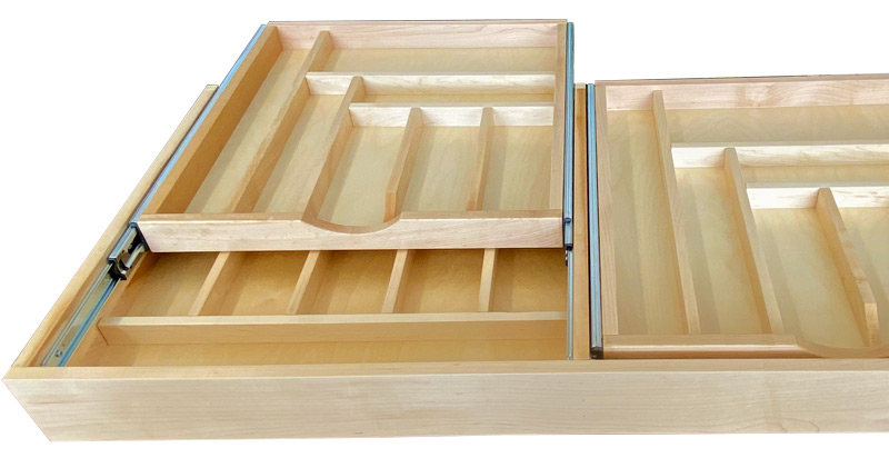 Extra Width Drawers