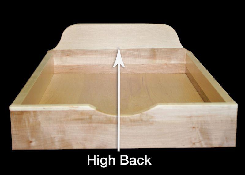 high back